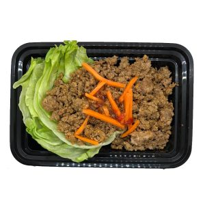 Meal Proz beef lettuce wrap